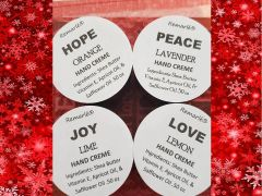 HAND CREME ADVENT PACKAGE Peace Joy Love Hope