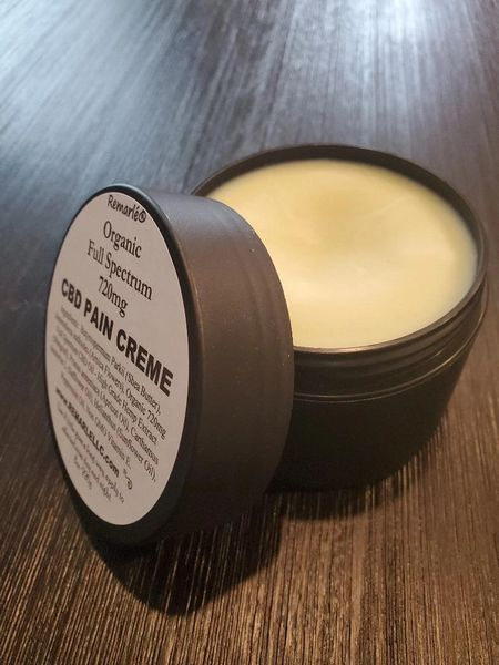 Organic CBD Full Spectrum Pain Creme