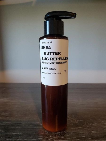 Shea Butter Bug Repellent Creme Peppermint Rosemary