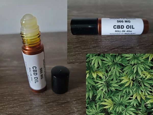 ORGANIC CBD OIL Full Spectrum 566mg ROLL ON