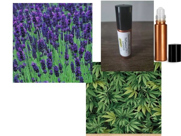 Organic Lavender 360 mg CBD Full Spectrum ROLLER for Anxiety