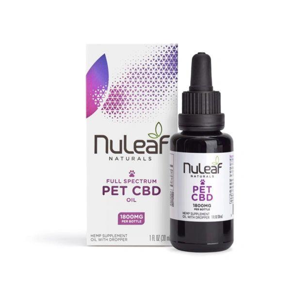 NuLeaf Pet ORGANIC CBD OIL Full Spectrum