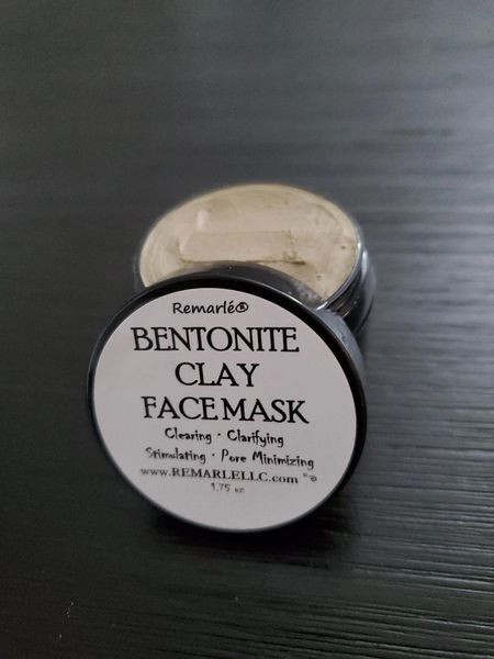 Bentonite Clay Face Mask - Healing, Clarifying, Stimulating, & Pore Minimizing