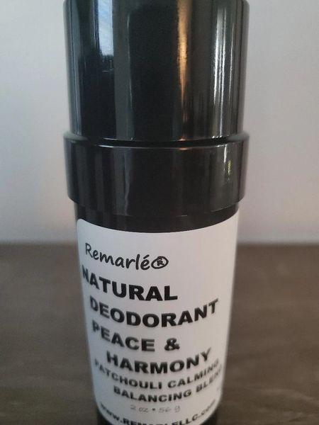 Patchouli PEACE & HARMONY Calming Balancing Blend DEODORANT - Natural ---no aluminum