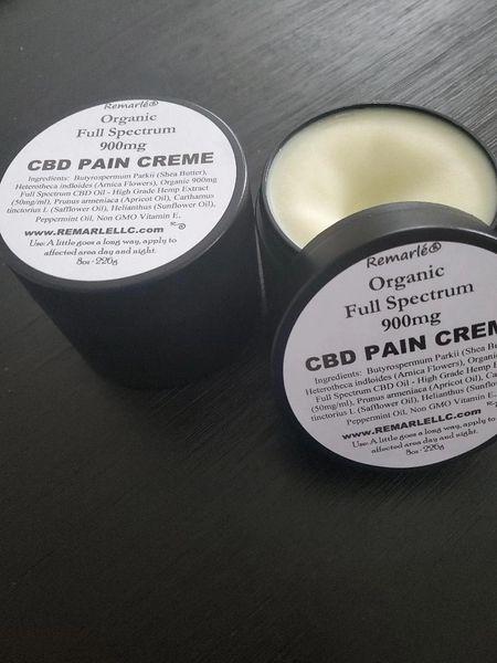 Organic CBD Full Spectrum Pain Creme
