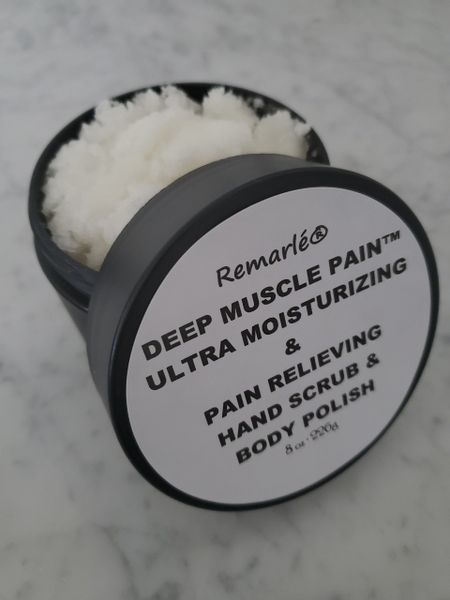 Deep Muscle Pain™ Ultra Moisturizing & Pain Relieving Hand and Body Scrub