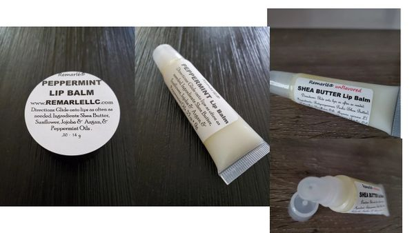 Shea Butter Lip Balm SPF 6 Healing and Moisturizing Shea Butter Lip Sores, Eczema, Split Lips