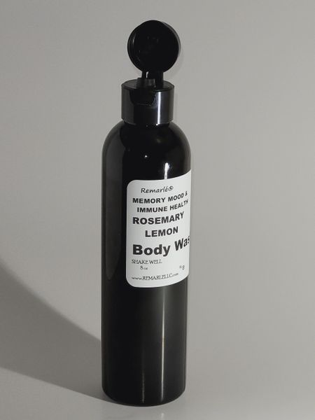 Memory, Mood, and Immune Health - Rosemary and Lemon Body Wash