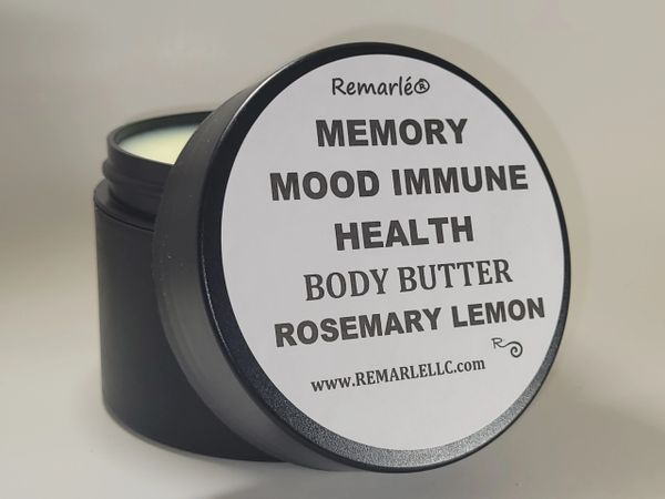 Memory Mood Immune Boost Hand Creme and Body Butter ROSEMARY LEMON
