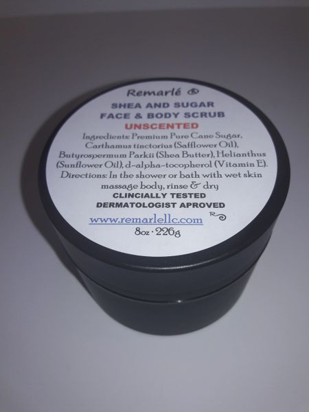 Sugar and Shea Ultra Moisturizing Body Polish and Hand Scrub - Choose your Essential Oil