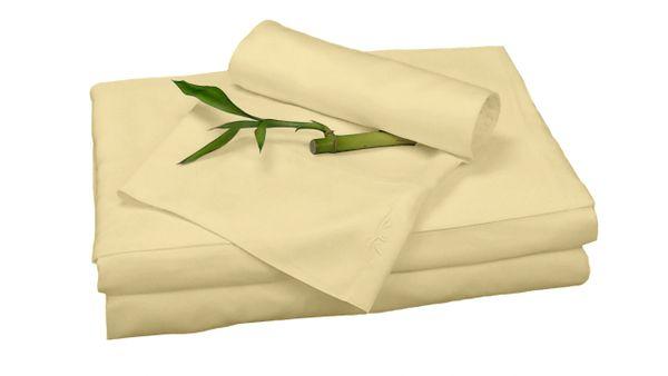bamboo sheet set (split king) by Bed Voyage