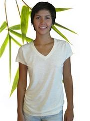 Women's bamboo/hemp Vneck