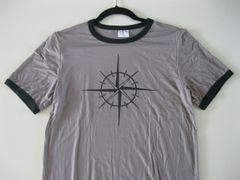 Men's Hemisphere Compass1 Ringer T