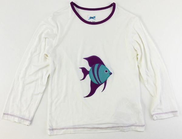 girls long sleeve fish t