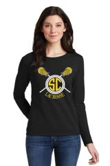 SC Lax- Long Sleeve Tee- Men's/Unisex and Ladies