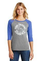 Four Seasons Ladies Baseball T Shirt (DM136L)