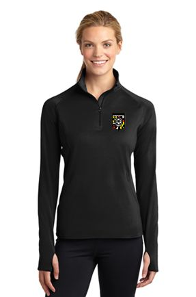 FCSC- Sport-Tek Ladies Sport-Wick Stretch 1/2-Zip Pullover Sport-Tek LST850