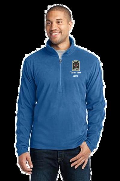 DOCR- Port Authority Microfleece Jacket. Quarter Zip. L224/F224