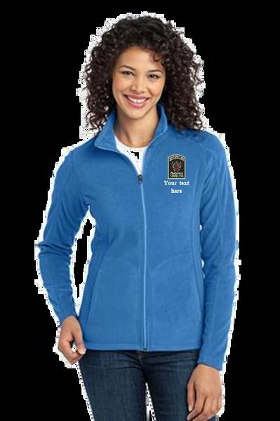 DOCR- Port Authority Microfleece Jacket. Full Zip. F223/L223