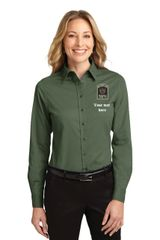 DOCR- Ladies Button Down Long Sleeve L608