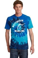 Nottingham Marlins- Adult Tie-Dye Tee. PC147.