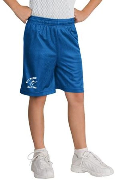 Nottingham Marlins- Youth Mesh Short. YST510
