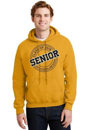 SCHS Class of 2019- Gold Adult Hoodie 18500