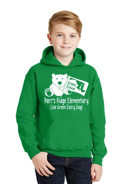 Parr's Ridge Green School – Youth Hoodie (18500B)