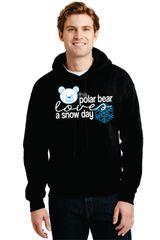 "Parr's Ridge- ""Polar Bear Snow Day"" Hoodie"