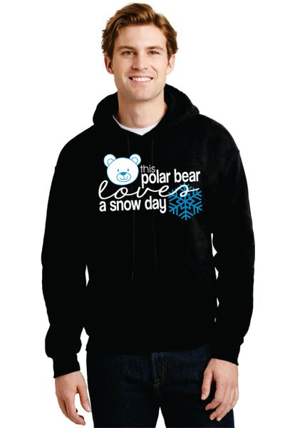 "Parr's Ridge- ""Polar Bear Snow Day"" Hoodie"