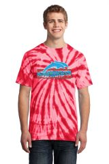 Freedom Dolphins- Adult Tie-Dye Tee