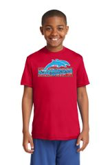 Freedom Dolphins- Youth Performance Tee