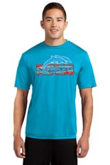 Freedom Dolphins- Adult Performance Tee