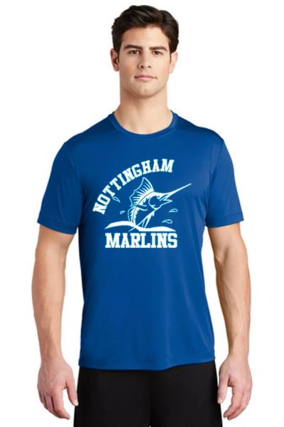 Nottingham Marlins- Adult UV Performance Tee