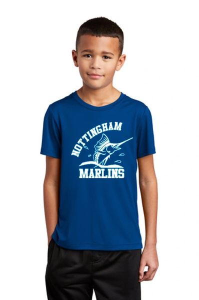 Nottingham Marlins- Youth UV Performance Tee