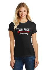 Twin Ridge- Ladies Tshirt – Vneck (DM1190L) or Crewneck (DM108L)