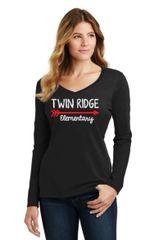 Twin Ridge- Ladies Long sleeve Tshirt