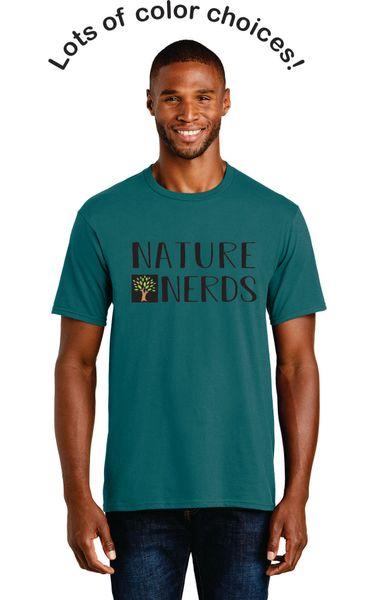 Nature Nerds- Adult Short Sleeve Tshirt (PC450)