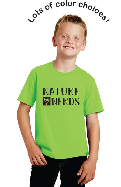 Nature Nerds- Youth Short Sleeve Tshirt (PC450Y)