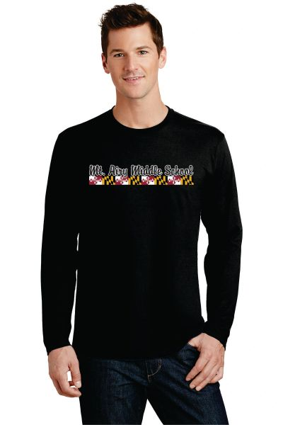 MAMS Spiritwear- Adult Long Sleeve T-shirt - Many Colors!