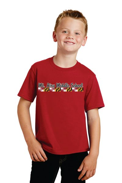 MAMS Spiritwear- Youth Short Sleeve T-shirt - Many Colors!
