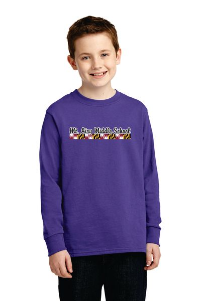 MAMS Spiritwear- Youth Long Sleeve T-shirt - Many Colors!
