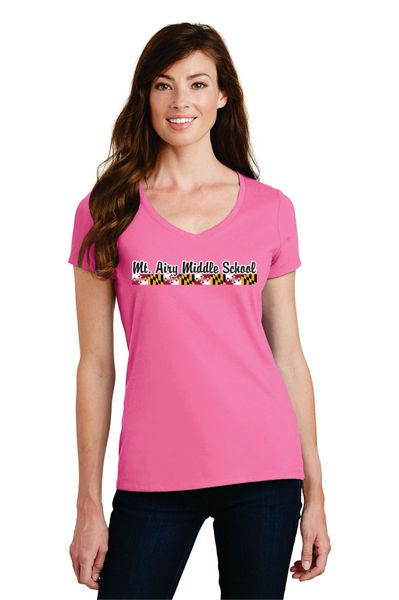 MAMS Spiritwear- Ladies Short Sleeve T-shirt - Many Colors!