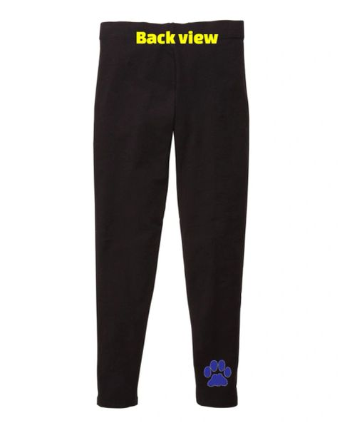 5- Required- Leggings with Paw Print (Youth and Adult)