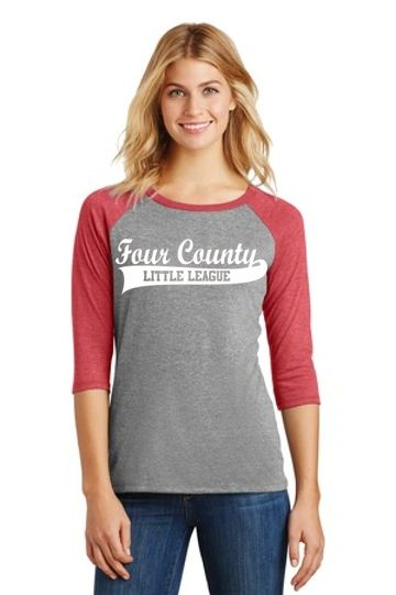 FCLL- Adult Baseball Tee- Ladies and Unisex/Men's Cuts