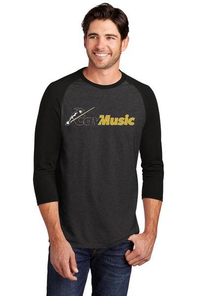 SCHS CavMusic- Unisex/Men's Baseball Shirt