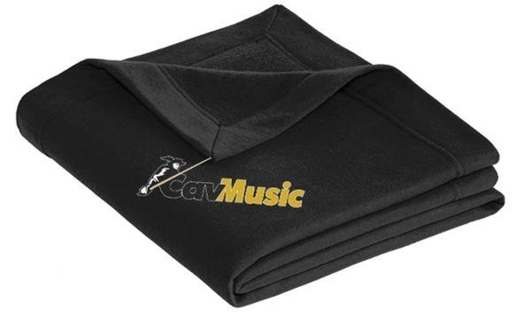 SCHS CavMusic- Sweatshirt Blanket