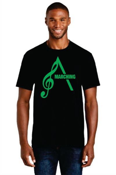 AHS Marching Band- Adult Short Sleeve Cotton T-shirt