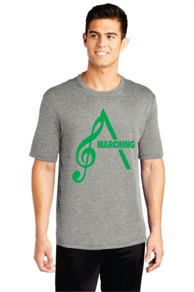 AHS Marching Band- Adult Short Sleeve Performance T-shirt