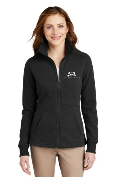 Twin Ridge- Ladies Slub Fleece Full Zip Jacket